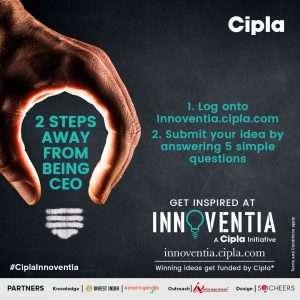 Cipla Innoventia StartUpIndia_ ANI.WORK 2018