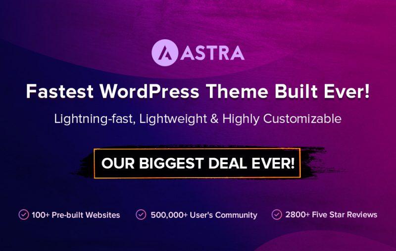 fastest wordpress theme ever